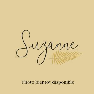 Manchette Suzanne Email Rouge