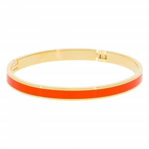 Bracelet Suzanne Email Orange