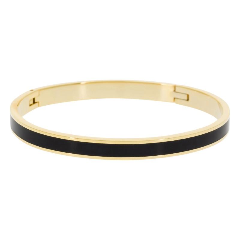 Bracelet Suzanne Email Noir