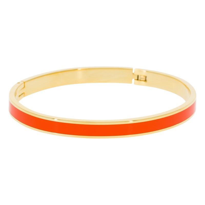Bracelet Suzanne Email Orange