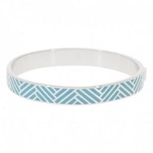 Bracelet Suzanne Email Bleu